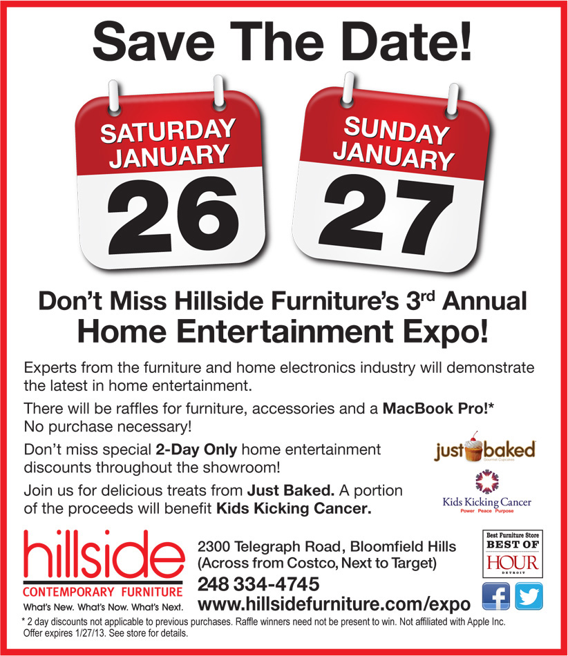 Hillside Furniture Expo Features Home Accessories