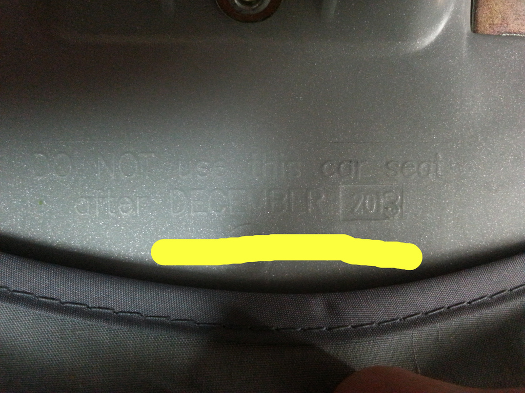 Did you know that car seats expire? - Finding My Blog