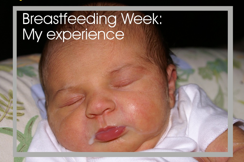 It's breastfeeding week on my blog and this post is all about my experience.